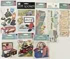 YOU CHOOSE Travel Vacation Stickers Jolees Martha Stewart etc Lot A16