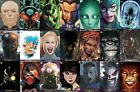 DC Year of the VILLAIN Artist HEADSHOT VARIANTS All Issue Single SETS AVAILABLE