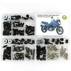 For Suzuki DL650 V Strom 650 2004-2011 Cowling Fairing Bolts Screws Fastener Kit