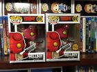 Funko Pop Comics Hellboy lot Regular​ & Limited Chase Edition with Horns New Set