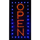 Squareoval Led Open Animated Motion Business Sign Bright Neon Lights Store Shop
