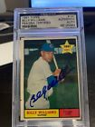 1961 Topps Billy Williams Hof Signed Rookie Auto Rc Autograph