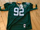 Reggie White 1993 home jersey. Mitchell Ness 56 Packers Authentic mesh jersey.