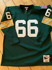 Ray Nitschke Mitchell and Ness Jersey 52 XXL 2XL Packers. Authentic home 1969