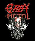 New BABYMETAL Shirt XL MAD FOX OZZFEST OZZY Official FREE SHIPPING Tracking
