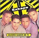 GRUPO EXKAPE - Quiero Saber De Ti - CD - **Mint Condition** - RARE