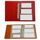 Paper Money Album Page Sheet Sleeves Portable Durable Banknote Collecting Hold d