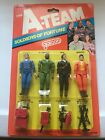Vintage 1983 Galoob The A Team Soldiers Of Fortune 4 Pack Set On Card