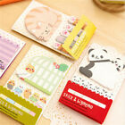Animal Cat Panda Cute Kawaii Memo Sticky Notes Planner Sticker Paper BookmaBLUS