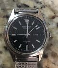 Men's 1979 Seiko 6309-7149 Black Dial Automatic Watch with Day / Date