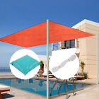 13 x 20 Rectangle Red Sun Shade Sail Outdoor Patio Pool Lawn Cover UV Block