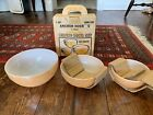 Copper-Tint Mixing Bowl Set Of 3 by ANCHOR HOCKING - Old, New Stock