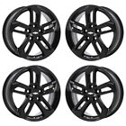 18 CHEVROLET EQUINOX GLOSS BLACK WHEELS RIMS FACTORY OEM 2016 2017 SET 5757