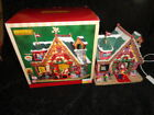 Lemax Village Lighted Building Collection Santa's Cabin #35554 Christmas