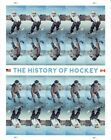 The History of Ice Hockey sheet of 20 forever stamps self adhesive MNH