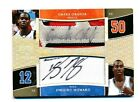 2005-06 UD Exquisite Collection Dual Auto on Patch DWIGHT HOWARD OKAFOR # 2 5