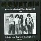 MOUNTAIN - Live At Woodstock Festival/ New Canaan H. S. 1969 - CD - Import VG