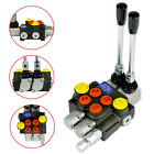 Hydraulic Directional Control Valve Tractor Loader w Joystick 2 Spool 13GPM