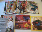 Spinning Felting Magazines Books LOT 15 Spin Off issues Knitting patterns