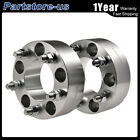 2Pcs Wheel Spacers 2 5x5 871mm Adapters For Jeep Wrangler Grand Cherokee JK