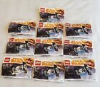 Bulk Lot of 10 x Lego Star Wars Imperial Tie Fighter Polybag 30381 New