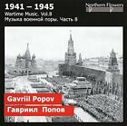 GAVRIIL POPOV - Wartime Music, Vol. 8: Symphony No. 2- Motherland, Op 39 / NEW