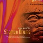 JAMES ASHER - Shaman Drums - CD - **Mint Condition** - RARE