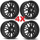15 ALLOY MAG WHEELS RIMS BLACK 15X6 4
