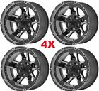 20 BLACK WHEELS RIMS 6X1397 6X55 XD827 ROCKSTAR