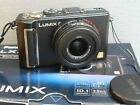 PANASONIC LUMIX LX3-10.2 M P -LEICA LENS-BLACK-BOXED