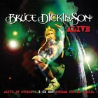 BRUCE DICKINSON - Alive In Studio A / Scream For Me Brazil - 3 CD - Original VG