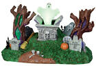 Lemax Spooky Town Haunted Village Cemetary #24463