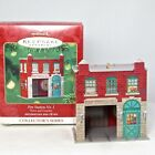 2001 Hallmark Fire Station No. 1 Ornament Town and Country Pressed Tin #3 NIB