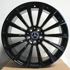 20x85 95 5x112 Black Wheels Fit Mercedes Benz CLS350 CLS400 CLS500 CLS63 AMG