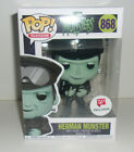 Herman Munster #868 Funko Pop Television Munsters Walgreens Exclusive In Hand