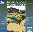 GRAHAM SALVAGE - English Bassoon Concertos - CD - **BRAND NEW/STILL SEALED**