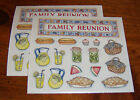 Frances Meyer Retired Sticker Sheet Lot of Two Sheets Family Reunion