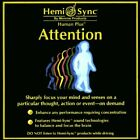 Hemi Sync- Attention- Human Plus - CD - Single - **Mint Condition** - RARE
