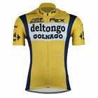 Brand New Retro Team Del Tongo Colnago Cycling Jersey