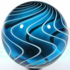 Hot House Glass reverse twist Gooseberry style marble 141 36mm 637