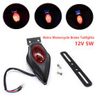 1X Retro Motorcycle Taillights LED Brake Tail License Plate Integrated Light NEW