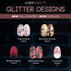 Color Street Autumn Fall 2019 Glitter Designs NEW Bloody Gorgeous Best of Swirls