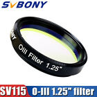 SVBONY SV115 18nm 125 O III Filters Narrowband Cuts Light Pollution Filter US