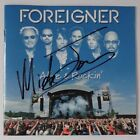 [RARE] AUTOGRAPHED - Foreigner (Mick Jones) - 'Alive & Rockin' [CD] + COA