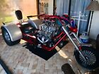 Pro Street Supercharged V8 Chevy Trike Blown 350 9 inch Ford Turbo 350 Chevy