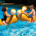 Battle Boppers Log Joust Set Pool Game Inflatable Swim Gladiator Party Duel 9084