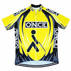 Brand New Retro Team ONCE Cycling Jersey