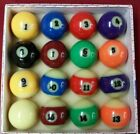 NEW Glow In The Dark Pool Ball Billiard Set 2 1 4 Standard SHIPS OUT SAME DAY