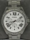 Fossil AM4481 Cecile Multi-function Women's Stainless Steel Analog Watch Ee178