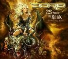 DORO - 25 Years In Rock - 3 CD - Import - **BRAND NEW/STILL SEALED** - RARE